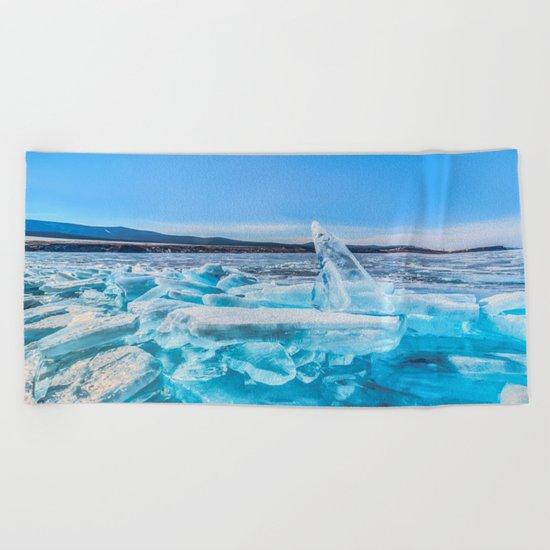 Treasure of Baikal Beach Towel