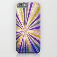 Retro Pattern Grunge iPhone 6 Slim Case