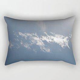 Lonely as a cloud Rectangular Pillow
