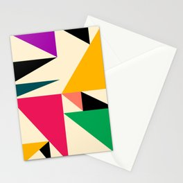 Triangled 08 Stationery Cards