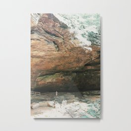 Surrounded by Caves Metal Print