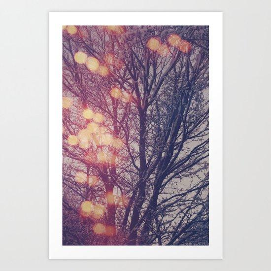 All the pretty lights (2) Art Print
