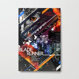 Visions of the Future :: Blade Runner Metal Print