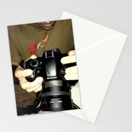 act of photography Stationery Cards