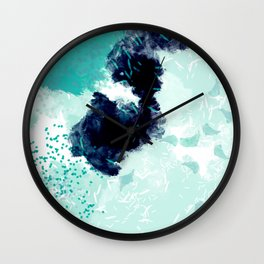 greene Wall Clock