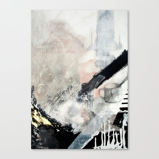 Saponification Abstraction Canvas Print