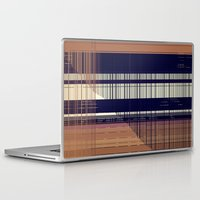 honeycomb Laptop & iPad Skins featuring HONEYCOMB by Mike Maike