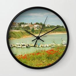 holiday feeling Wall Clock