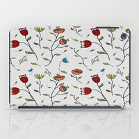 spice iPad Cases featuring Floral Spice by Itaya Art
