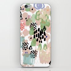 spring 2 modern contemporary iPhone Skin