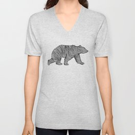 THE BEAR Unisex V-Neck