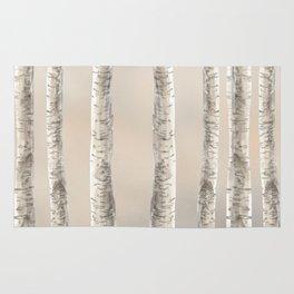 Birches-Winter Rug