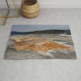 Mammoth Hot Spring Colors Rug