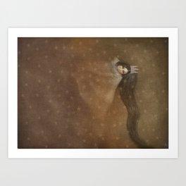 Sleeps With Stars 2 Art Print