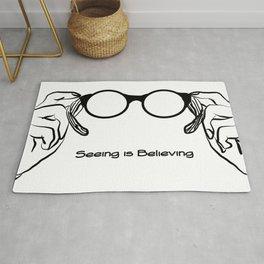 Seeing is Believing Rug