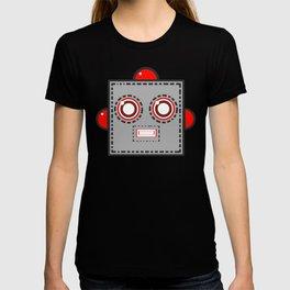 Retro Robot Heads T-shirt