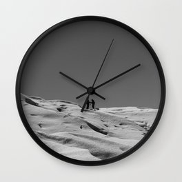 We'll Meet In The Middle Wall Clock