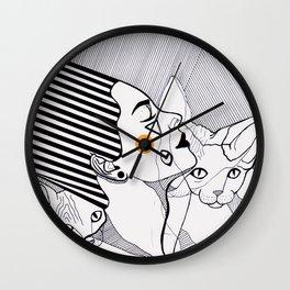 egypt sun Wall Clock