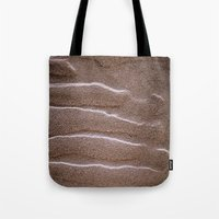 sand Tote Bags featuring sand by  Agostino Lo Coco