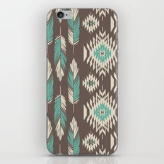 Native Roots - Turquoise & Brown iPhone & iPod Skin