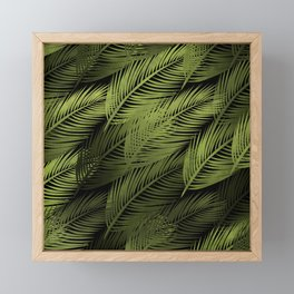 Leaves Framed Mini Art Print