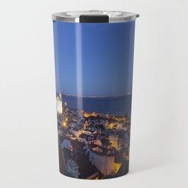Moon over Lisbon Travel Mug