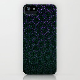 Enchanted Forest Mandala iPhone Case