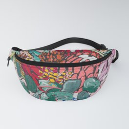 Australian Native Bouquet of Flowers after Matisse Fanny Pack