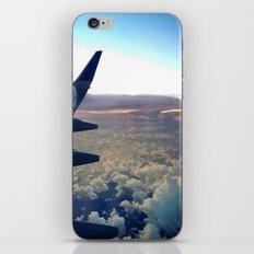 airplane window iPhone & iPod Skin