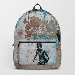 JUMPING CHILD - urban ART Backpack