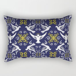 Doves Patterns Rectangular Pillow