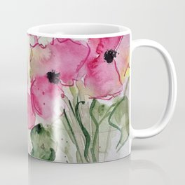 pink flowers party Coffee Mug