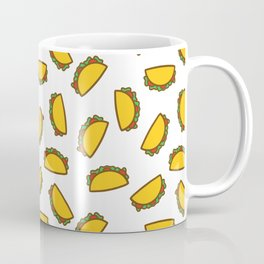 TACO TACOS MEXICAN FOOD PATTERN Coffee Mug