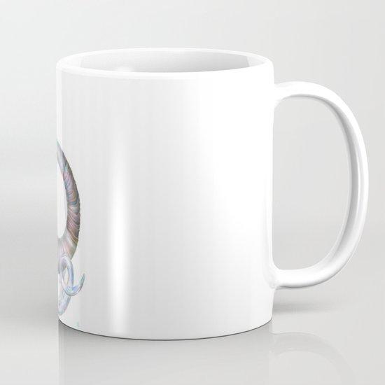 Elephant Shower in Red Coffee Mug