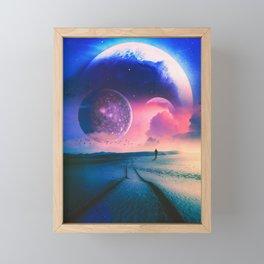 Hills Of The Desert Framed Mini Art Print