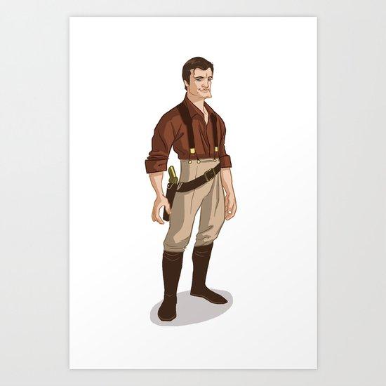 Captain Mal Art Print