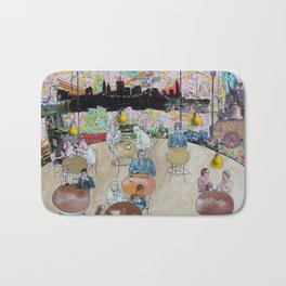 Coffee Shop NYC Bath Mat