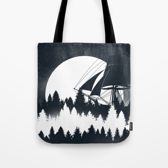 Forest Wave Tote Bag
