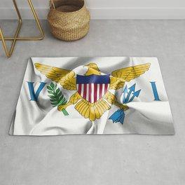 United States Virgin Islands Flag Rug