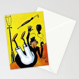 Cartoon comics 8 Stationery Cards