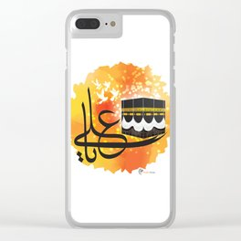 Commander of the Faithful Clear iPhone Case