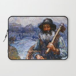 John Peter Russell - Mon ami 'Polite Laptop Sleeve