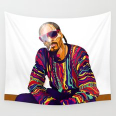 Smoking weed evry day Wall Tapestry