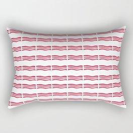 Bacon Strips Rectangular Pillow