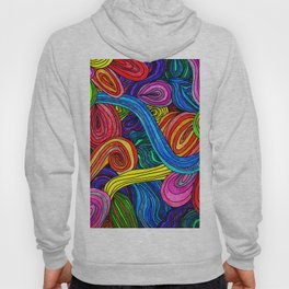 Psychedelic Lines Hoody
