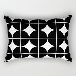 Circle Grid Rectangular Pillow