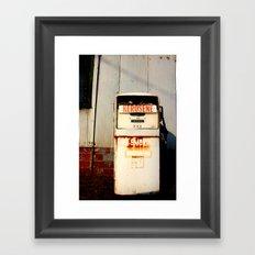 Kerosene Framed Art Print