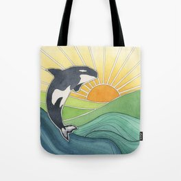 Westcoast Orca Tote Bag