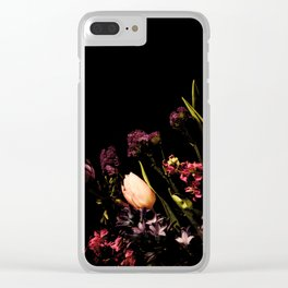 Spring Corner Clear iPhone Case