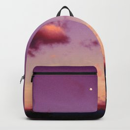 Costa Rican pink sky Backpack